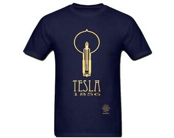 Nikola Tesla Shirt, Science Shirt, Science Teacher Gift, Geek Shirt, Physics Gift, Computer Science Gift, Inspirational Shirt, Geek Clothing