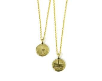 Ogham ~ Celtic Tree Rune Necklace