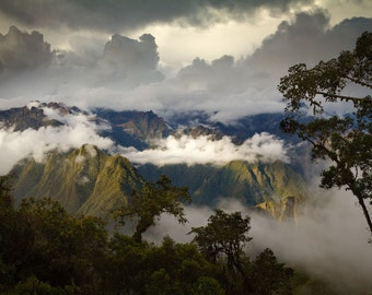 Andean Sunset (Inca Trail, Peru)