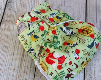 Animal Friends Cloth Diaper
