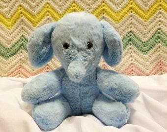Minky Plush Elephant Stuffed Toy