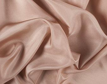 "45"" Wide 100% Silk Habotai Camel-Wholesale by the Yard (2000M176)"