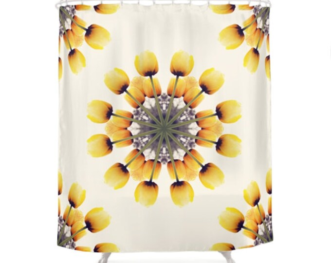 Tulips Shower Curtain - Mandalas