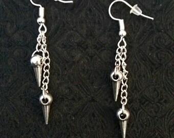 Gothic long Earrings
