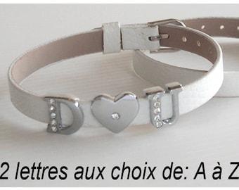 Alphabet for child bracelet