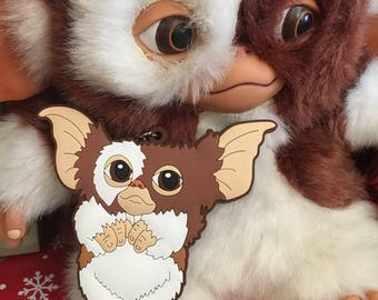 Gremlins Keychain, Gizmo Keychain, 80s Horror Movie Gift, Gremlins 2 Mogwai, Holiday Scary Movie Limited Edition Accessory, Creature Feature
