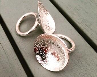 Silver Lunar Ring