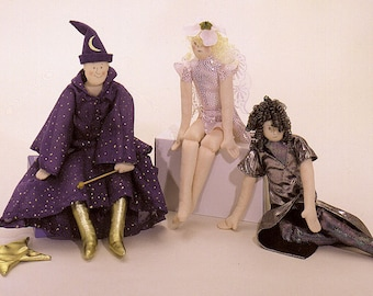 Wizard and Faerie Lady, Carolee Creations Easy to sew patterns