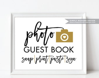 wedding guestbook photo booth sign, photo prop, selfie station, wedding favor, guest photos, photo guestbook sign, oh snap, PRINTABLE SIGN