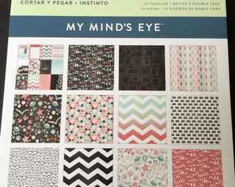 My minds eye 6 x 6  Flair paper pad