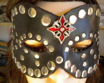VENETIAN mask in leather