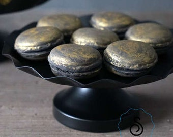 Black Metal Cake Cupcake Stand Display Party decoration and supplies