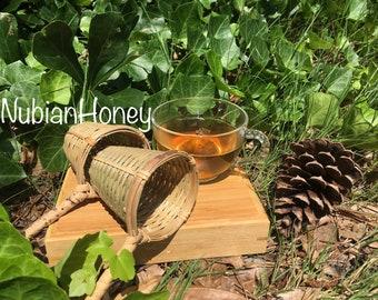 Bamboo Tea Strainer - Loose Leaf Tea Strainer - Tea Strainer - 100% Natural Bamboo - Tea Infuser -