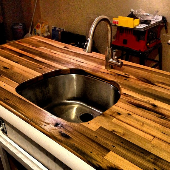 Kitchen Countertops Wood And Butcher Block: Butcher Block Countertop
