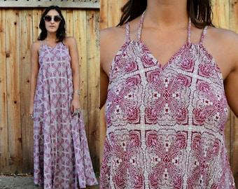 Gypsy Eyes SWEET MELISSA Boho HANDMADE Maxi Dress