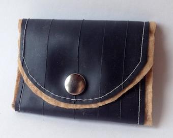 Tan Upcycled Wallet