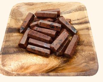 Mahogany Obsidian Single Terminated Point - Mahogany Obsidian Point - Root Chakra - Balance - Energy Healing - Reiki