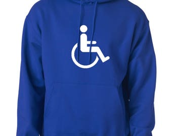 Handicapped logo hoodie (XL) brand new