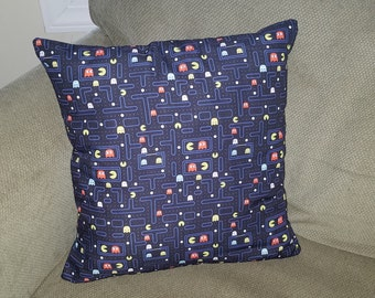 """80's Arcade Video Game 16"""" x 16"""" Decorative Throw Pillow (insert included)"""