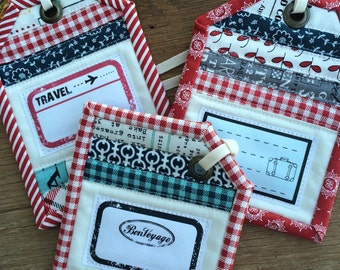 Faster Luggage Tags Event Tags Pattern And Magnetic Name Tags