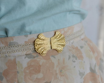 Bridal Waist Belt, Gold Buckle, Ivory Belt,  Wedding Dress Belt, lace belt, Stretch Belt, Skinny Belt, Wedding Gown Belt, Dainty Belt