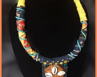 Tribal handmade bold jewelry