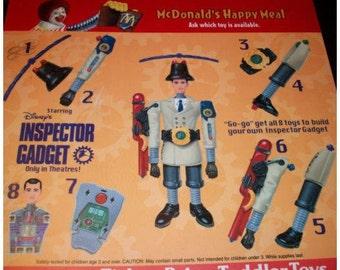 Inspector Gadget Action Figure - complete!