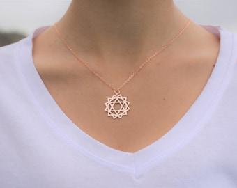 Coating, Gold color. Zirconia necklace. 1 piece.