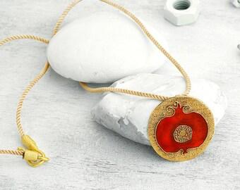 BiggDesignPomegranate Necklace