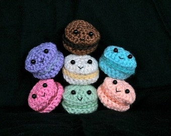 Crochet Macarons