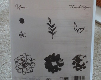 Stampin' Up! What I Love Photopolymer stamp set