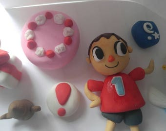 30% off orders of 50 dollars +Animal crossing villager cake/cupcake toppers
