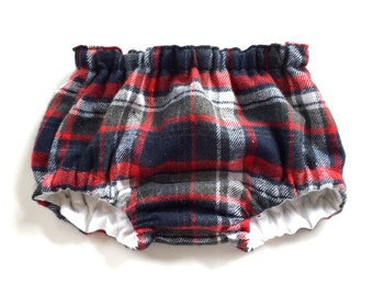 Baby Bloomers, Nappy Cover, Diaper Cover, Tartan Bloomers, Plaid Bloomers, Plaid Nappy Cover, Tartan Nappy Cover, Hipster Baby Clothes
