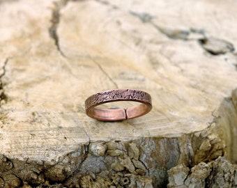 11 plus, Copper Ring, Arthritis Ring, Copper Jewelry, Adjustable Ring, Mens copper Ring - Womens copper Ring - Rustic copper Ring - USA