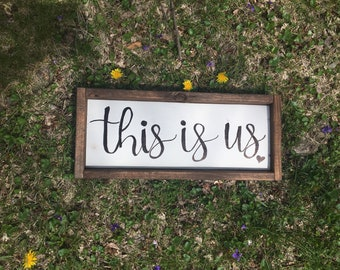 Hand Made Repurposed Pallet Wood Sign