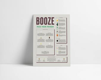 The Booze Poster