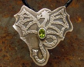 Dragon Pendant with Perid...