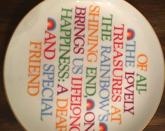 Lasting Memories Fine Porcelain Collectible Plate by American Greetings