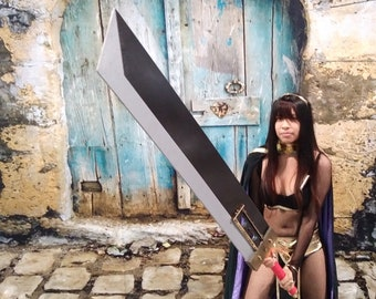 Custom Commissions of Props made from Wood- Anime Weapons and props