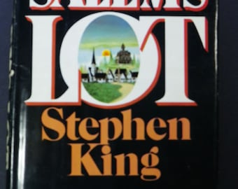 Salem's Lot, 1st Edition, Q37 Marker On Page 439, First Edition