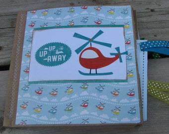 Up Up and Away Scrapbook
