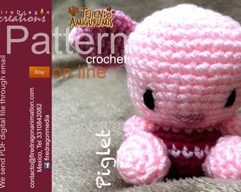 Piglet Pattern Crochet