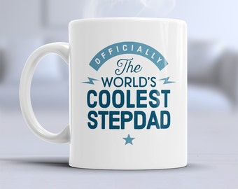 Cool Stepdad, Stepdad Mug, Birthday Gift For Stepdad! Stepdad Gift. Stepdad, Stepdad Present, Stepdad Birthday Gift, Gift For Stepdad!