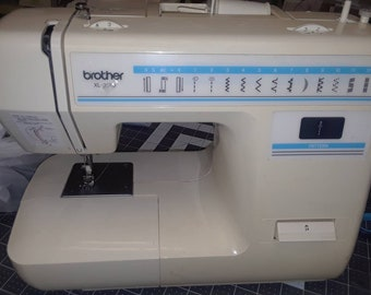 BROTHER 1330 SEWING MACHINE with Free Arm Cord  Foot Pedal Professionally Serviced Sews Beautifully