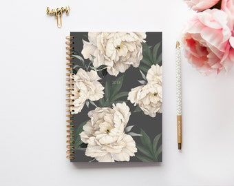 A5 Planner - 2018-2019 Planner - Mid-Year Planner - Personalized Planner - 2018-2019 Diary - Custom Gift - Agenda