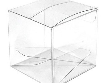 Acetate Clear Favor Boxes (Pack of 10) Containers Wedding Favor Supplies