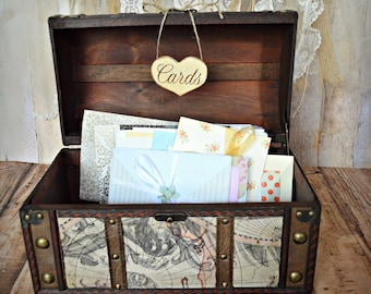 large old world map card trunk suitcase wedding card holder and card sign bride and groom card holder wood trunk vintage inspired wishes
