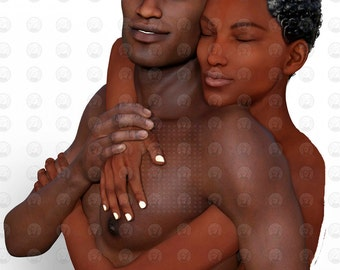 """Black Love Art African American Family Art """"Together"""" print by African American Artist Eric Austin"""