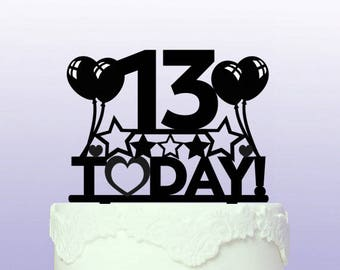 All Birthday Today Cake Topper