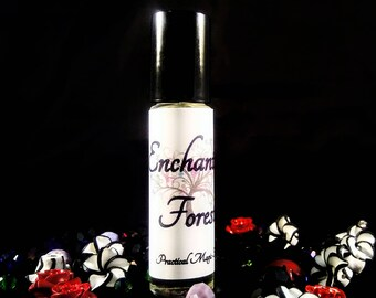 Enchanted Forest - perfume oil - fragrance oil - roll on perfume - gifts for her - bath and beauty - gothic perfume
